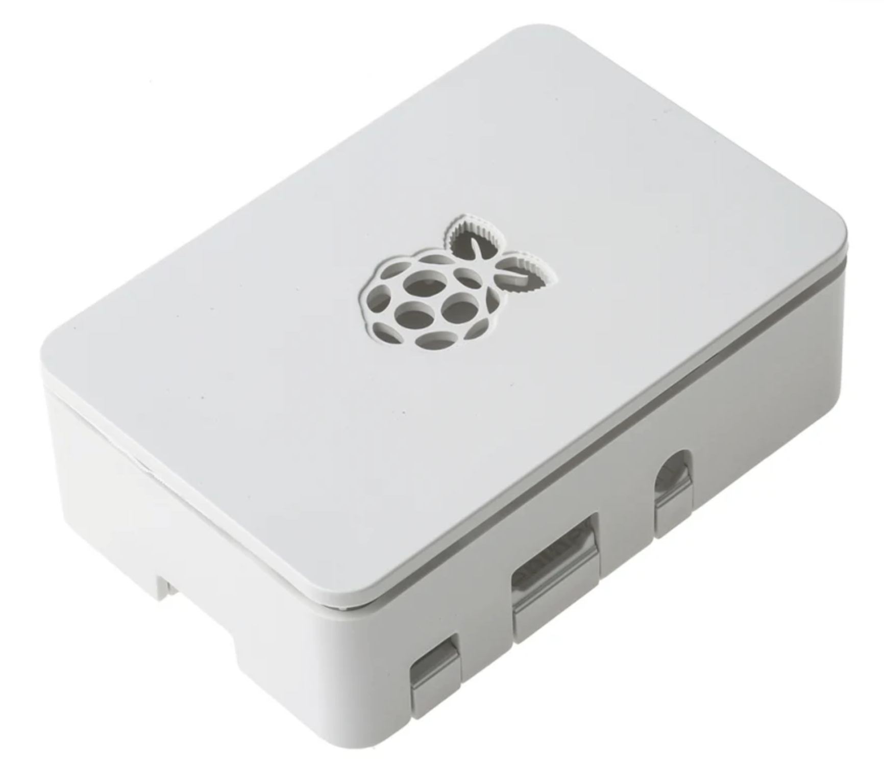 Designed to protect your Raspberry Pi 3 B from all those little knocks and scrapes, the official Raspberry Pi 3 Case in red/white (think Raspberries a